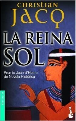 la reina sol, novelas sobre el antiguo egipto